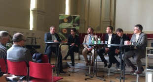 Podiumsveranstaltung MINT-Berufe (Moderation, 9.5.2015)