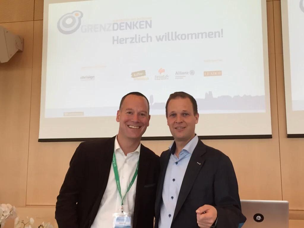 'Grenzdenken' (Lilienberg) mit Mit-Organisator Christoph Lanter, 15.-16.4.2016