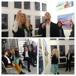 Moderation Vernissage Anna Meyer (Galerie mera, März 2017)-I
