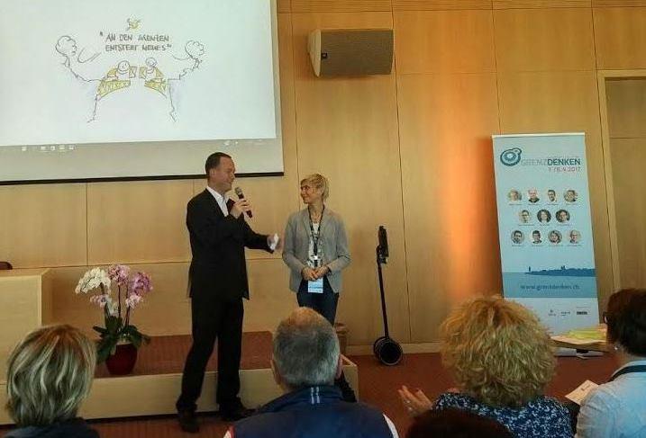 Moderation Gespräch mit Anna Buchmann (Grenzdenken, 8.4.2017)