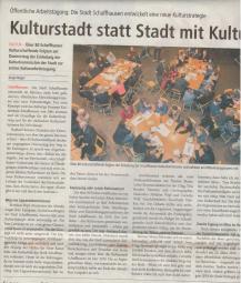 Kultur-Bericht (II)