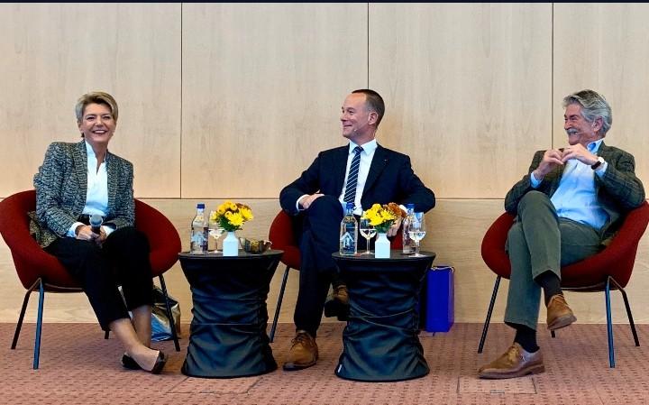 Lilienberg-Talk mit Karin Keller-Sutter & Beni Sutter (Okt. 2019)-I