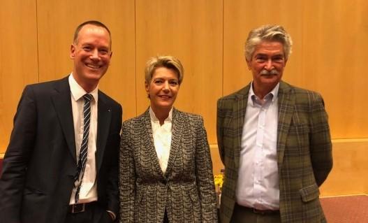 Lilienberg-Talk mit Karin Keller-Sutter & Beni Sutter (Okt. 2019)-III